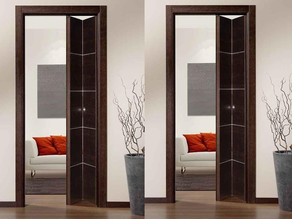 Porte in legno pieghevoli a libro   Serramenti Tomasini